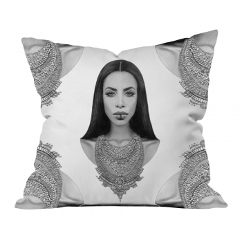Aaliyah Reimagined Pattern Pillow